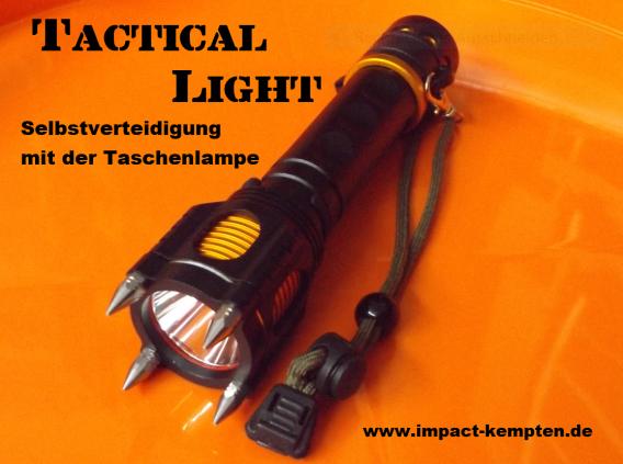 Selbstverteidigung Taschenlampe
